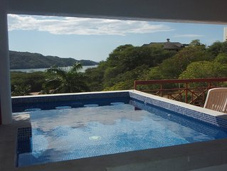 Private villa and pool in a gated resort - fantastic ocean view!
