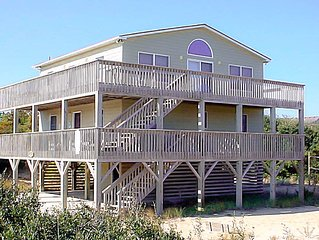#528 Southern Exposure. Ocean View, Volleyball, Hot Tub, Horseshoes, WiFi
