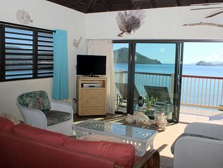 Top floor waterfront, great views. Rate includes cleaning fee. B9