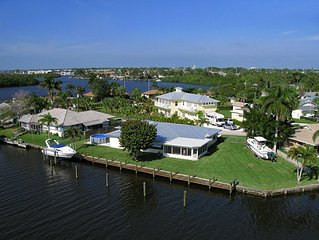 Treasure Coast  Waterfront  Home with Private Pool and Deep Water Dock