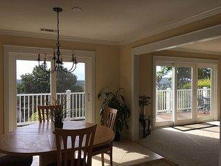 Ideal Santa Barbara Location With Tree-Top Views