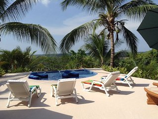 Spectacular Ocean Views from Every Room & Terrace - Lots of Monkeys & Toucans!