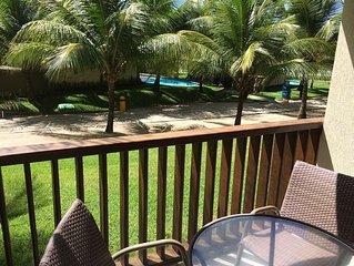 Flat in Marulhos Resort Muro Alto - Porto de Galinhas - Ground and Sea View