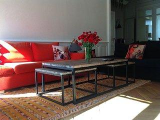 Superbe appartement 90 m2 en plein ceour de Lyon, style bourgeois hauts plafonds