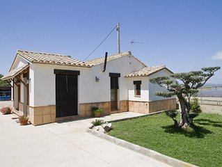 Country house with a garden, very close to La Marquesa Beach.