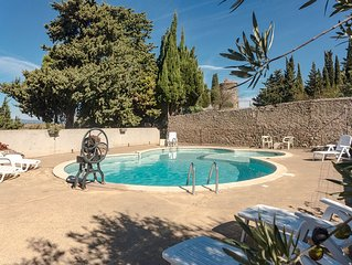 Cottage 6 persons between Narbonne and Carcassonne nice views and large pool