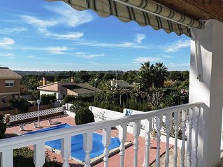 VILLA WITH PRIVATE POOL, A 7 MINUTES FROM THE BEACH AND ONLY 15 KMS OF PORT AVE