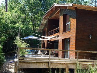 Pyla Sur Mer: Luxury house in the forest
