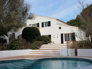 Secluded Villa with Private Pool, Large Sun Terrace and Beautiful Gardens