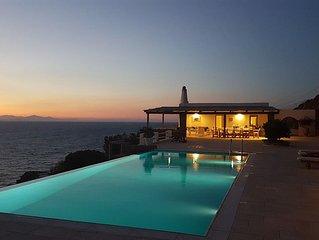 Maison avec vue sur la mer Egee