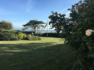 Beautiful, well appointed Victorian house with breathtaking Dyfi estuary views