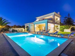 Beautiful Big Villa - Sea Views - Heated Family Pool - Private Garden - Book Now