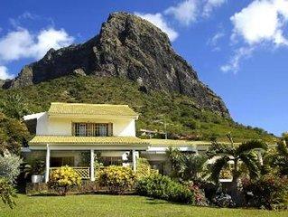 Le Morne:Maison  de reve a l'ile Maurice Maison avec jardin a partir 135Euro