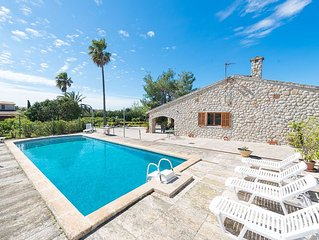 ES CANTO DES MORES - Villa for 8 people in Binissalem.