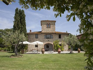 Casale Tagliafune,a XV century's Villa,near Florence with View On The Wineyards
