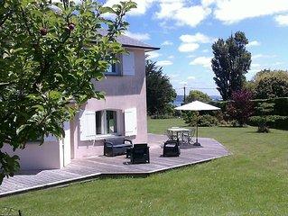 Grande maison avec jardin a 200 metres de la plage