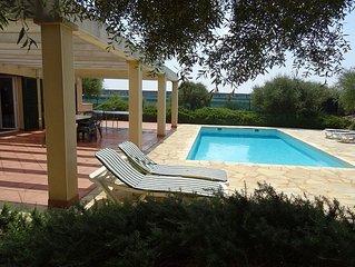 Preciosa Villa con Piscina Privada y todas las comodidades a 1km de la playa