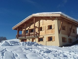 MEGEVE APARTMENT RENTAL IN SEASON IN NEW CHALET F