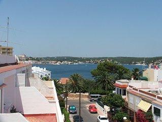 Menorca, Apartamento Con Espectaculares Vistas Al Puerto De Maó