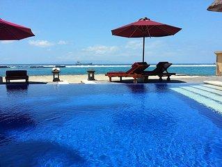 Villa Talia Vashti - Lovely Ocean Views and Great Location on a White Sand Beach