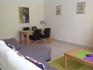Lovely ground floor Air Conditioned apartment with terrace.