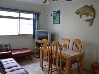 Apartamento Pé na Areia - Vista para o Mar -