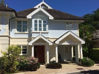 Luxury House near Sandy Lane with pool, clubhouse & private beach access