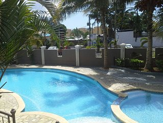 Newly Renovated 3 Bedroom Apartment, Only Footsteps Away From Magnificent Beach