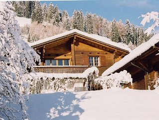 Charming chalet | private indoor pool & sauna | alpine location | sleeps 2-9