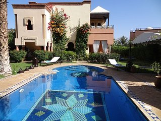 LUXURY VILLA CLOSE TO GOLF WITH PRIVATE POOL AND HOTEL SERVICE