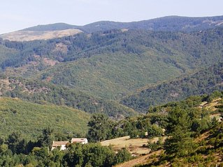 Cévennes Navacelles gîte dans un environnement préservé, calme