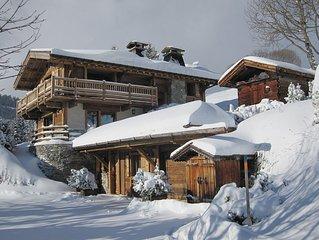 Chalet Cocoon, face au Mont Blanc