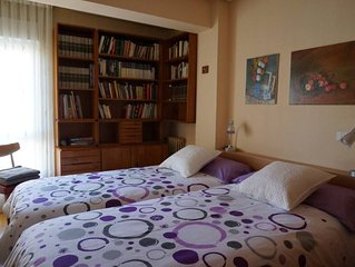 Apartment in the heart of Leon, comfortable, spacious and fully equipped.