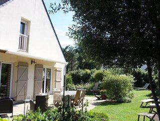 Sarzeau:Maisonavec jardin clos,idéal pour des vacances reposantes et prochede le
