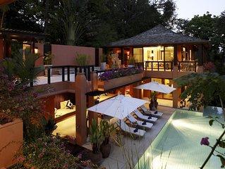 Stunning  5 star luxury beach front Sri Panwa villa in Phuket