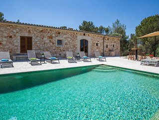 PUIG DEN XESC - Villa for 16 people in Sant Joan.