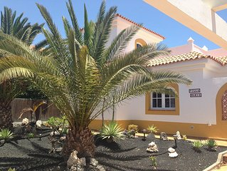 Attractive private villa on Caleta de Fuste Golf Course
