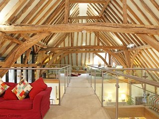 Great Higham Barn  -  a barn that sleeps 26 guests  in 7 bedrooms