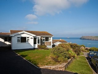 A delightful 4 bed bungalow with exceptional sea views