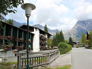 Located 150m from the slopes (150 km), with pool and sauna!