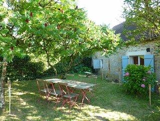 Maison de caractère en Bourgogne, idéale vacances reposantes et familiales !