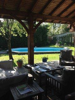 Maison de charme , proche du centre ville de Bordeaux , 1500 M2 de terrain