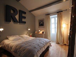 Maison rénovée et pleine de charme au coeur du village d'ARS EN RE