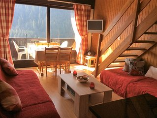 Cosy family apartment  in central location in Chatel