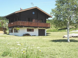 Detached chalet, very well located in a very quiet set of 29 chalets.