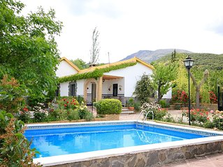 A delightful property surrounded by a cherry orchard and private swimming pool