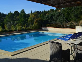 Villa In Caunes With Large Private Pool And Stunning Views. Flexible changeover.