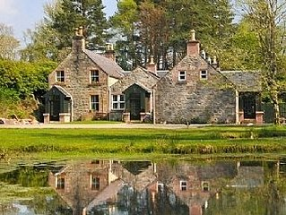 Highland Coach House. A Luxury Retreat in The Prettiest Glen In The Highlands