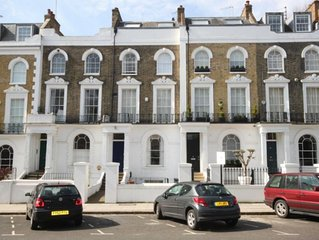 2 Bedroom, 2 Bathroom, Garden Flat In Primrose Hill Village
