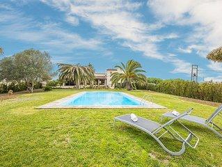 HORTETA - Villa for 8 people in Montuiri.